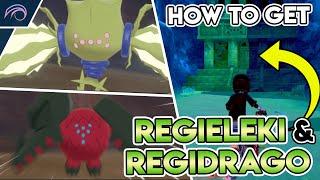 HOW TO GET REGIDRAGO & REGIELEKI IN THE CROWN TUNDRA Pokemon Sword and Shield DLC