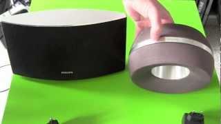 Fideliio AD7000W vs DS3800W Philips AirPlay Lautsprecher Vergleich