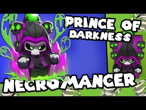 Bloons TD 6 - The Prince Of Darkness - Tier 5 Wizard Monkey