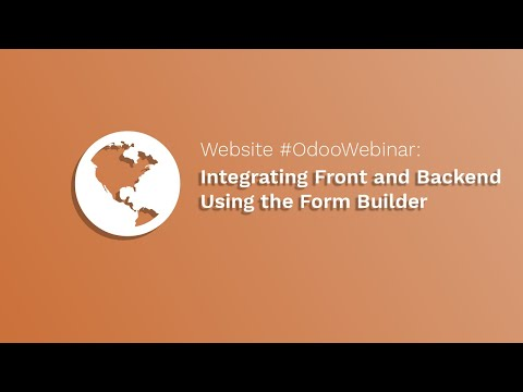 odoo Website Tutorial: Integrating Front and Backend Using the Form Builder - odoo version V12