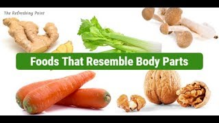 Can the Shape of Food Tell You Which Body Part It's Good For? Foods Help with Certain Body Parts