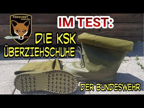 Die KSK Überziehschuhe der Bundeswehr - für trockene Schuhe und Füße - Test und Review