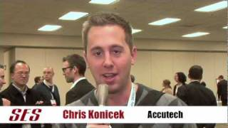 SES Chicago 2009 testimonial with first time attendee, Chris Konicek of Accutech