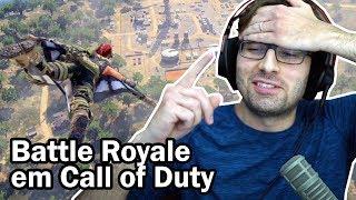 BLACKOUT GAMEPLAY - Minha Primeira Partida no Battle Royale do Call of Duty Black Ops 4 | BRKsEDU