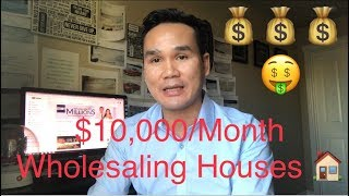 How To Make 10K/Month Wholesaling Houses? Breakdown Of What I did To Achieved It