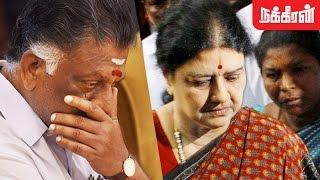 ஓபிஎஸ் கொடுத்த ராஜினாமா கடிதம் OPS Given His Resignation Letter To Sasikala  Is It True