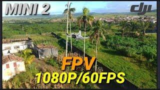 FPV EM 1080/60FPS COM MINI 2