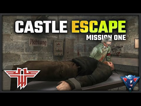 ESCAPE THE CASTLE! - Return to Castle Wolfenstein - Mission One Playthrough