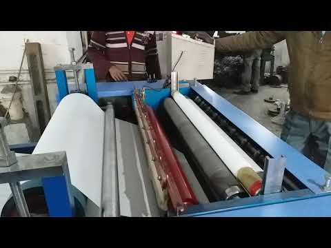 5 kW Semi Automatic Toilet Paper Roll Making Machine