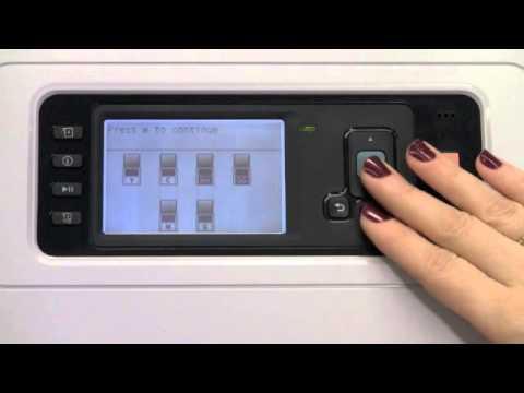 HP Designjet T7100 Ink System