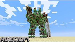 Minecraft Block Robot Mod Ride Stomp Block Monster Mod