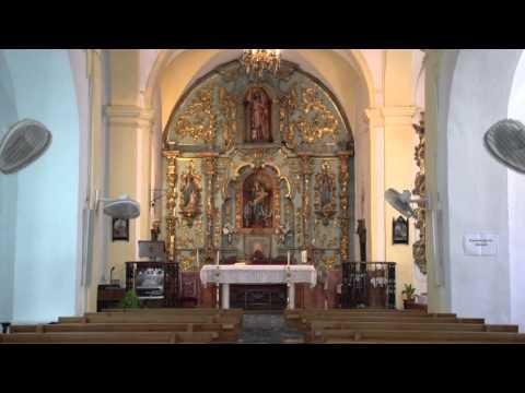 """Die Kirche """"San Juan"""", Cuevas Bajas"""