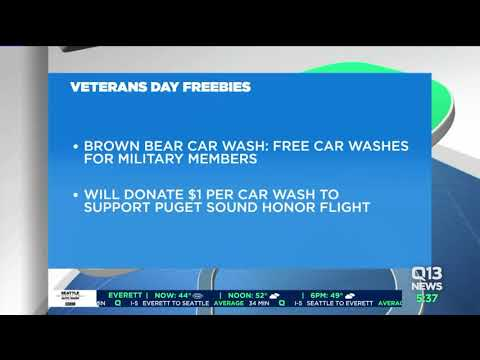 Veterans Day freebies: Puget Sound area museums, businesses offer free entry, meals