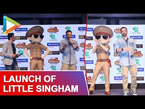 Download Launch Of Discovery Kids Little Singham With Rohit Shetty | Part 1 HD Mp4 3GP Video and MP3