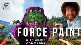 how to paint your dinos in ark xbox one - मुफ्त ऑनलाइन