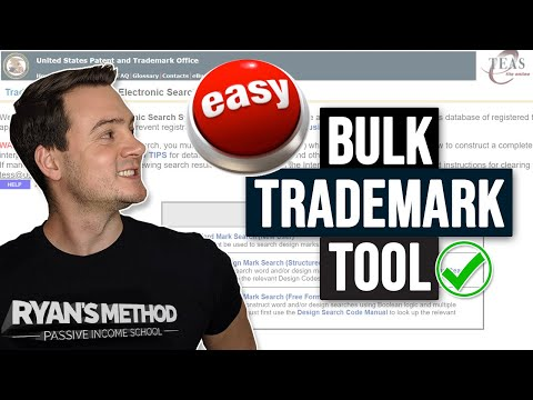This (FREE) Bulk Trademark Tool Saves Me ⏰SO MUCH TIME!