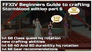 ffxiv crafting guide 4-4 - Kênh video giải trí dành cho thiếu nhi