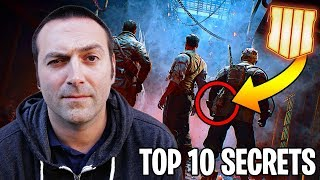 TOP 10 ZOMBIES SECRETS LEAKED BY JASON BLUNDELL (Call of Duty Black Ops 4 Zombies)