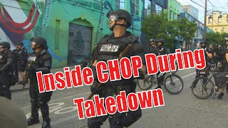 Seattle's CHOP/CHAZ Shutdown By Police - First Person POV Walkthrough - Watch It Go Down