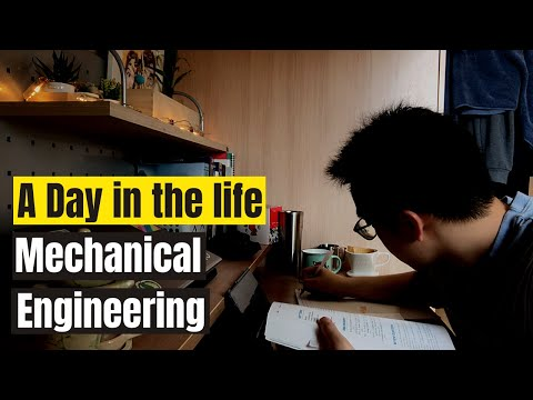 A Day in the life of a Mechanical Engineering Student | Online Classes | Inha Univ. South Korea