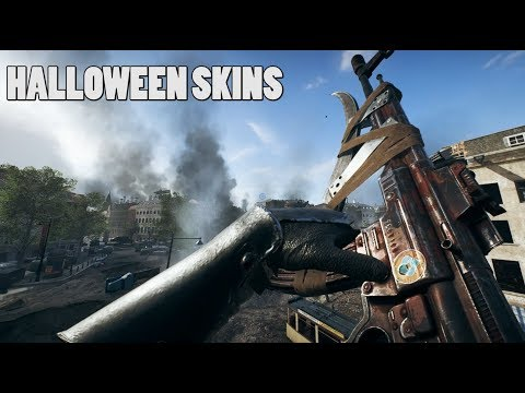 Halloween skins are here  - Battlefield V