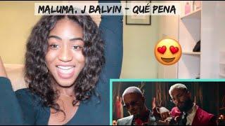 Maluma, J Balvin   Qué Pena | REACTION
