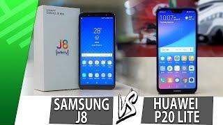Samsung J8 VS Huawei P20 Lite   Enfrentamiento   Review   Unboxing