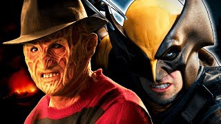 Freddy Krueger Vs Wolverine Epic Rap Battles Of History