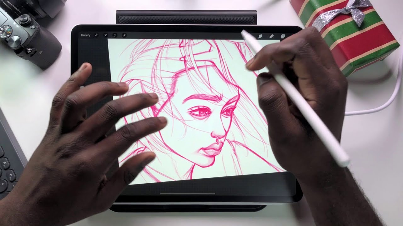 drawing faces easily using procreate by ergojosh