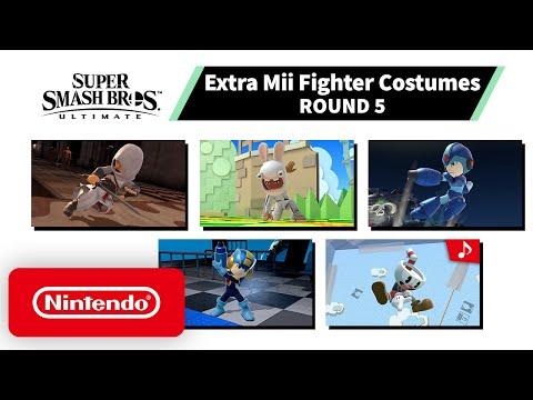 Super Smash Bros. Ultimate : Pack #5 de costumes Mii