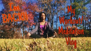 Yoga/Workout Meditation  Vlog ||YunoKayla||