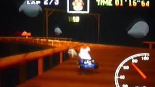 MK64 - former world record on Banshee Boardwalk - 2'04''83 (NTSC: 1'43''82)
