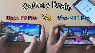 Vivo V11 Pro Vs Oppo F9 Pro Battery Draining Test