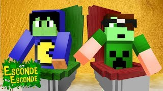 Minecraft: Escondendo dentro da PRIVADA! 🚽🤮 (Esconde-Esconde)