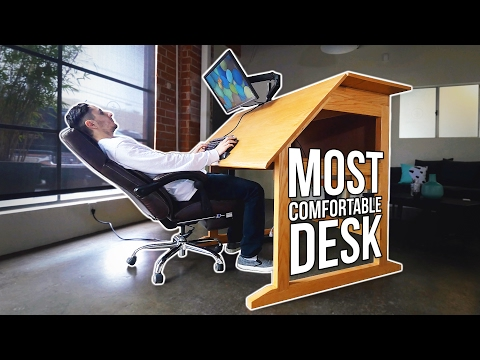 This Desk Will Prevent Back Pain! - Ergomaniac Furniture Mp3