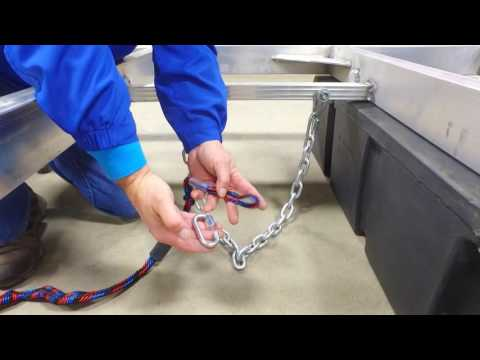 Installation of a Double Clevis Kit on Hewitt Swim Raft