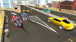 Sci Fi Bike Driving School 3D - New Android Gameplay HD
