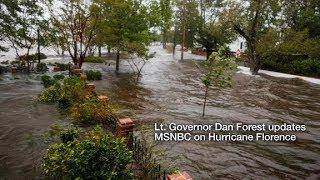 Lt. Governor Dan Forest Updates MSNBC