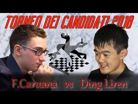 Partite Commentate di Scacchi 304 - Caruana vs Ding Liren - Non prendetemi in Giri -2018 [E11]