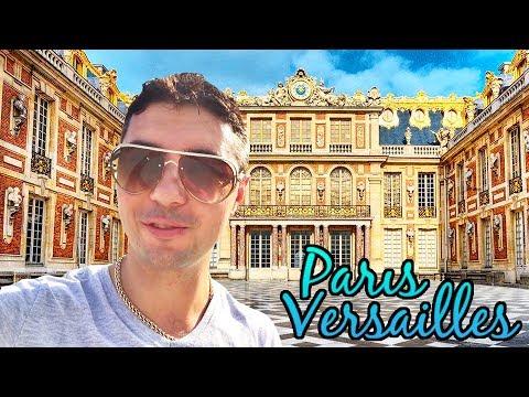 Версаль Париж видео самая интересная экскурсия Версальский дворец Франция Путешествие по Версалю