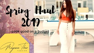 Spring Fashion Haul 2019 | Affordable Outfits | Look good Feel better