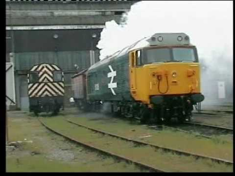 50026 starts up at Old Oak Common MPD