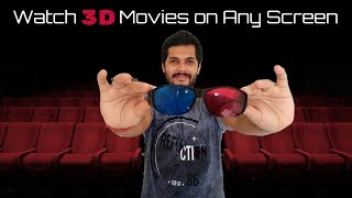 How to Watch 3D Movies on Any Screen (Normal Display Computer, Mobile, Non 3D TV) +Top 10 3D Movies