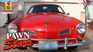 Pawn Stars: Rick's Dream Car RUINED by Custom Modifications (Season 9)   History