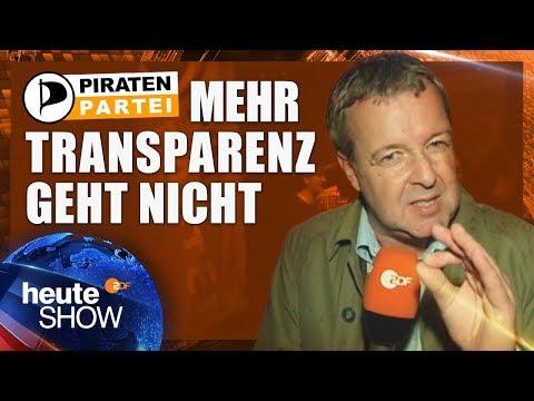 Die Piratenpartei entert das Berliner Landesparlament | heute-show vom 23.09.2011