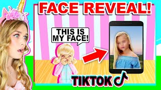 My CHILD Did A FACE REVEAL On TIKTOK! (Roblox)