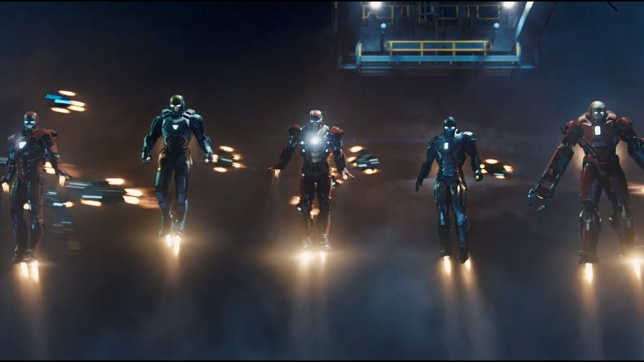 Here's What All Those Suits Do In The Iron Man 3 Trailer