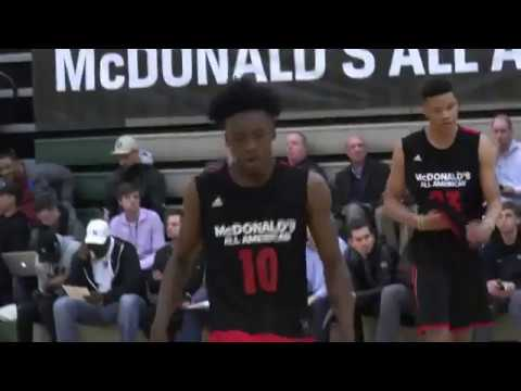 Alabama Commit Collin Sexton Interview from McDonald's All-American Game