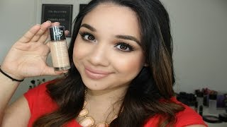 Revlon Colorstay Foundation Review + Demo