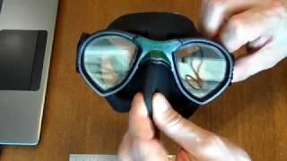 Маска  для плавания и подводной охоты Sporasub Mystic от компании МагазинCalipso dive shop - видео